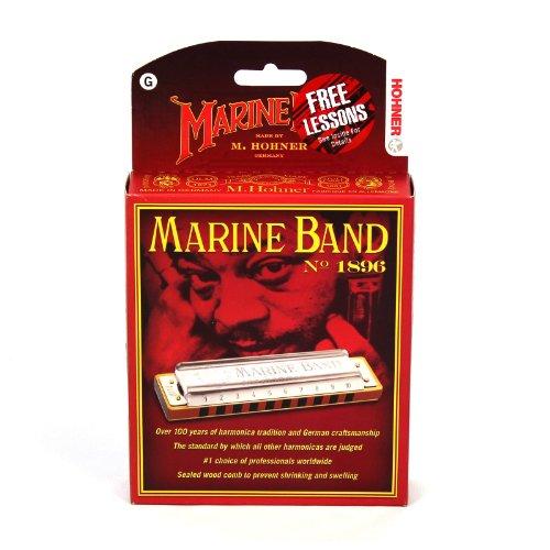 Hohner Marine Band Harmonica, Key of G