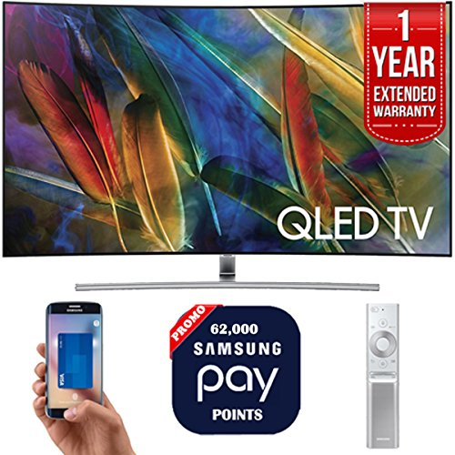 "Samsung QN65Q7C 65"" 4K UHD Smart QLED TV + 1 Year Extended W"