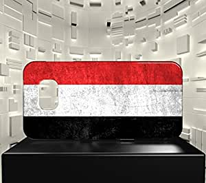 Funda Carcasa para Galaxy S6 Edge Bandera YEMEN 01
