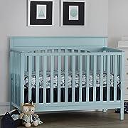 Suite Bebe Harley 4-in-1 Convertible Crib Cloud Mint