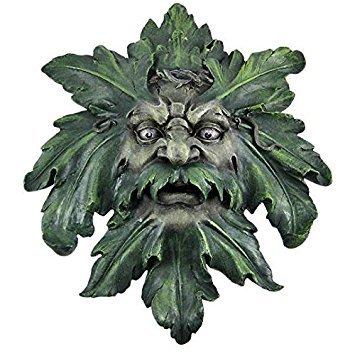 Large Celtic Green Man Wall Hanging Greenman Pagan