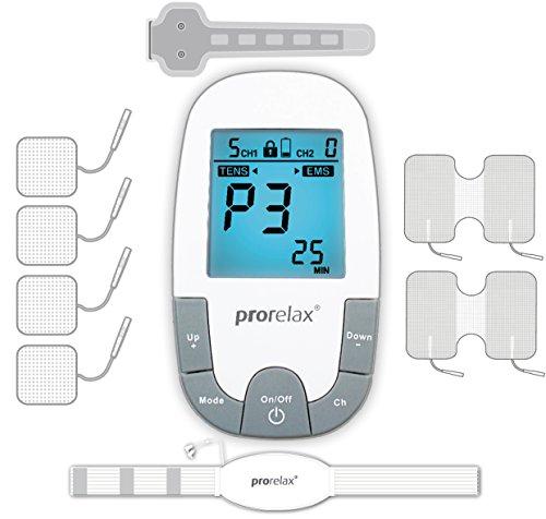 Prorelax 85835 Tens/Ems SuperDuo Plus. Elektrostimulationsgerät mit besonders umfangreichem Zubehörset