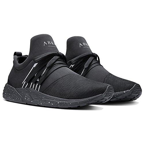 ARKK COPENHAGEN Raven Mesh Uomo Sneaker Nero