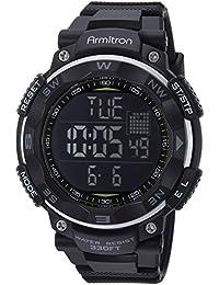 Men's 40/8254BLK Black Digital Chronograph Watch
