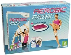Aerobic Fitness con Tappetino Yoga [Importación italiana]