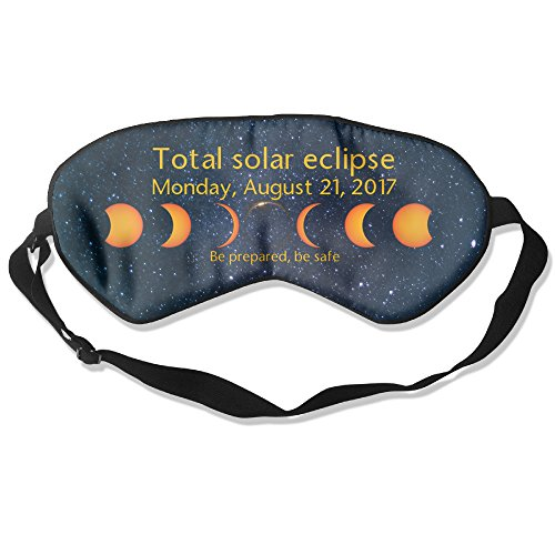 Price comparison product image Come To The Dark Side Total Solar EclipseLuxury Ultralight Comfortable Contoured Eye Sleep Mask/Blindfold For Travel & Sleep