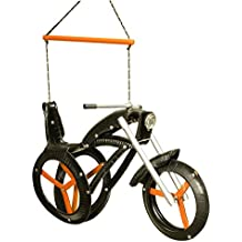 Chopper Recycled Tire Motorcycle Tree Swing