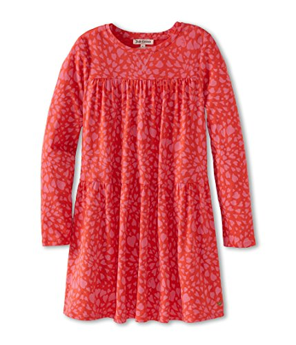 Juicy Couture Girls Heart - Juicy Couture Pink Highlighter Heart Swirl Knit Dress (Small (4-5))