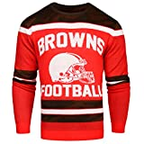 FOCO Cleveland Browns Ugly Glow In The Dark Sweater - Mens - Mens Extra Large