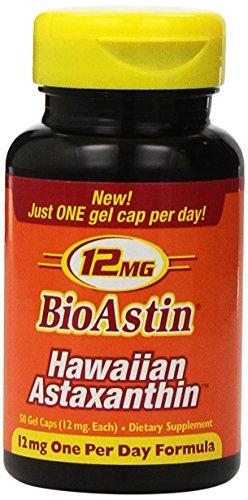 BioAstin Hawaiian Astaxanthin 12mg Gelcaps