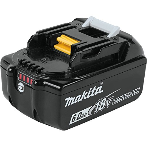 Makita BL1860B 18V LXT Lithium-Ion 6.0 Ah Battery by Makita