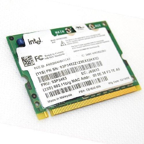 Intel Wireless 2200bg 802.11b/g Mini Pci Card for IBM T40 T41 T42 T43 - T42 T41 Mini