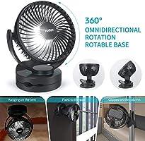 Jomst - Linterna LED portátil para camping con ventilador de techo ...