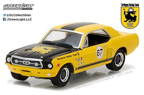 Greenlight 1/64 1967 Ford Terlingua Continuation Mustang #67