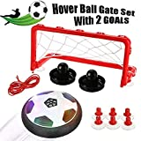 Kkapony Hover Ball, Toys Hover Football Disk Toy for Boys with LED Light and Foam Bumpers Indoor...