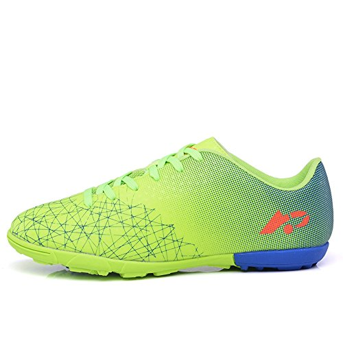 Image of YING LAN Men's Boy's Turf Cleats Soccer Athletic Football Outdoor/Indoor Sports Shoes TF