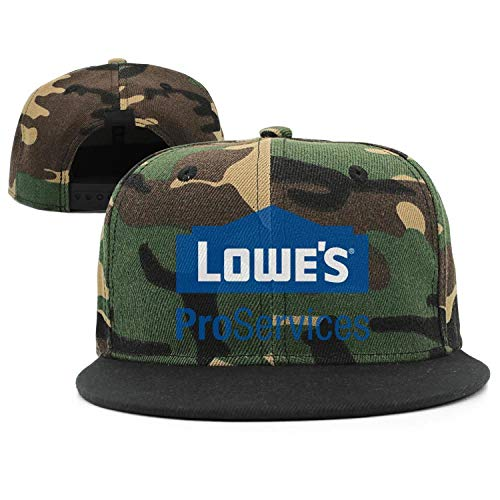 (Unisex Army-Green Summer Cap Cute Cowboy Hat Lowe's-Home-Improvement-Logo- Baseball Cap for Mens')