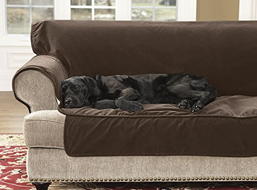 Orvis Grip-tight Furniture Protector / Only Loveseat Protector , Chocolate by Orvis