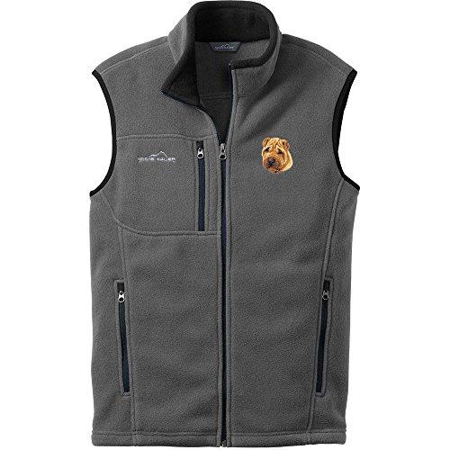 1 Embroidered Fleece Vest - 4