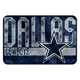 The Northwest Company NFL Dallas Cowboys Embossed Memory Foam Rug, One Size, Multicolor
