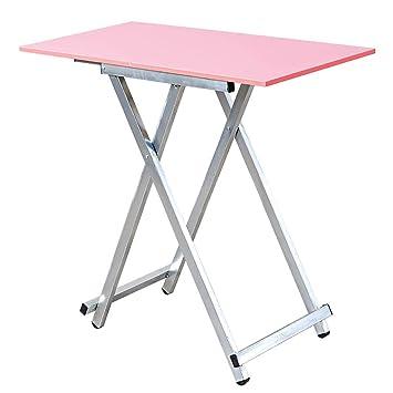 Mesa Plegable de tamaño pequeño Mesa para Comer Sencilla Mesa de ...