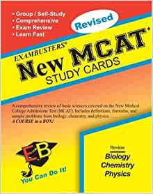 Ace's Exambusters New MCAT CD-Rom & Study Cards