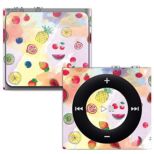 MightySkins Skin for Apple iPod Shuffle 4G - Fruit Water | Protective, Durable, and Unique Vinyl Decal wrap Cover | Easy to Apply, Remove, and Change Styles | Made in The USA (Case Protective Silicone Shuffle)