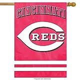 "Cincinnati Reds 28"" x 44"" House Banner Flag"