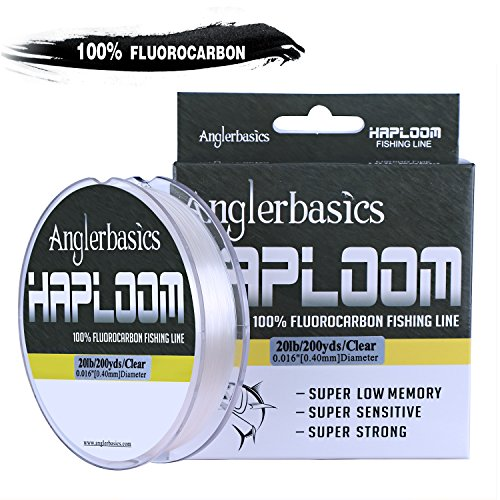P-Line 100/% Pure Fluorocarbon Clear Fishing Line 27 Yards 10LB Test