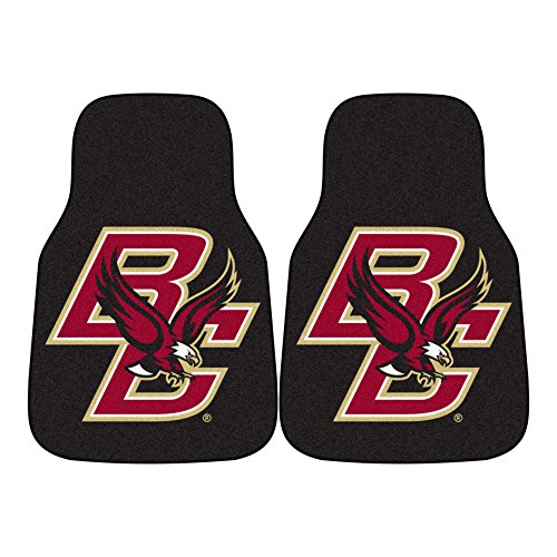 (FANMATS NCAA Boston College Eagles Nylon Face Carpet Car Mat)