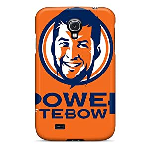 Tpu Rewens Shockproof Scratcheproof Denver Broncos Hard Case Cover For Galaxy S4