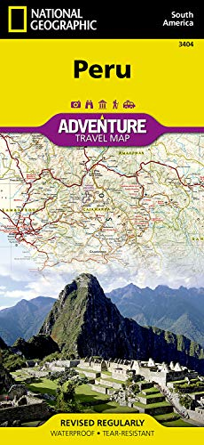 Peru (National Geographic Adventure Map)