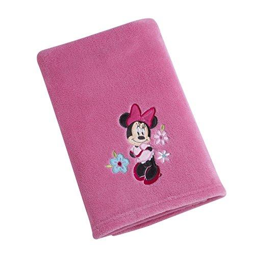 (Disney Minnie Blanket, Pink)