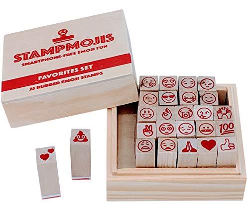 Emoji Stamps by Stampmojis (Favorites Set) Great Stamps For Kids, Scrapbooking Supplies, Emoji Crafts, Emoji Stickers Alternative