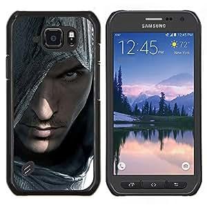 LECELL--Funda protectora / Cubierta / Piel For Samsung Galaxy S6Active Active G890A -- Asesinos Portraitr --