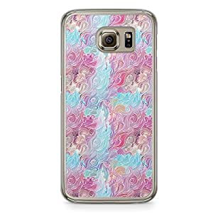 Hairs Samsung Galaxy S6 Transparent Edge Case - Design 2
