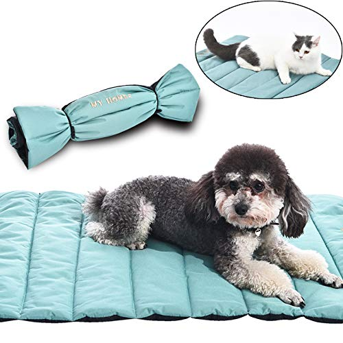- AmeriLuck Travel Pets Mat, Easy Carry Portable Bed Cover, 30
