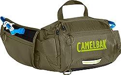 CamelBak Repack LR 4 50 oz Hydration Pack, Burnt Olive/Lime Punch
