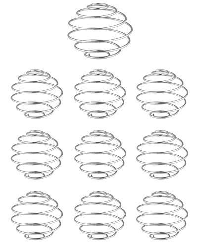 VALI Stainless Steel Shaker Cup Balls, 10 Pack. Replacement Wire Whisk Mixing Ball For Mixer Bottle & Sports Drink Shake Blending