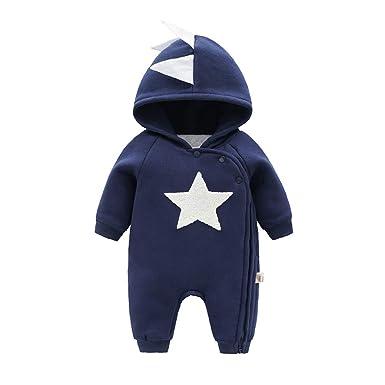 c1a9750c2 Amazon.com  Newborn Baby Boy Baby Girl Unisex Clothes Long Sleeve ...