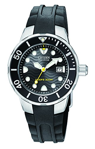 Citizen Women's EP6010-03E Eco-Drive Strap Diver Watch