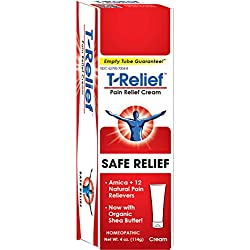 :T-Relief Pain Relief Cream, 4 Ounce