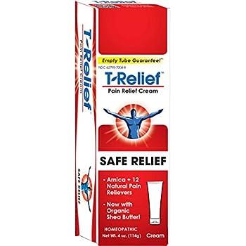 T-Relief Pain Relief cream,[114g] 4 oz