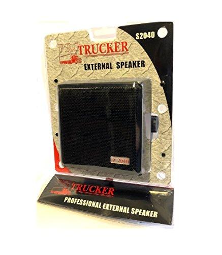 Pro Trucker 4.5'' 20 Watt Noise Cancelling Dynamic External Speaker With Talk Back