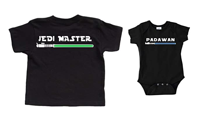Star Wars Shirts Christmas Gift Jedi Master Padawan Gift For Dad ...