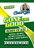 GONE FOR GOOD -BIG 32oz- Super Enzymatic Urine Odor Stain Remover, Eliminate Strong Dog & Cat Pee Smell-Clean Carpet- Rug- Dog Beds Floor- Enzyme Neutralizer Spray (Quart)