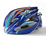Sport Bike Helmets Super Light Cycling Helmet Bicycle Helmets With 23 Holes Size 58-62Cm - Blue