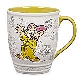Disney Store Dopey Classic Coffee Mug Cup Snow White
