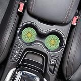 "SICOHOME Car Coasters, 2.56"" Mandala Absorbent Car"