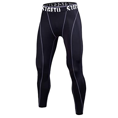65e03bdc62fd9 Men's Athletic Running Pants Workout Training Pants Outdoor Elastic Tight  Bottom Leggings Sports Gym Yoga Trousers